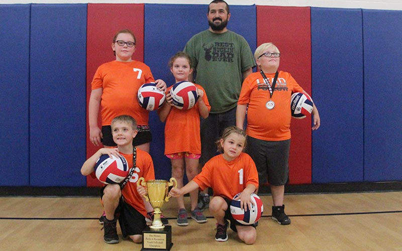 2017 1st-3rd Coed Youth Volleyball Champions: Surge